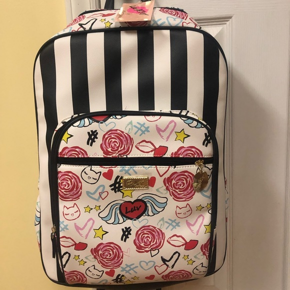 Betsey Johnson Handbags - Betsey Johnson Large Backpack